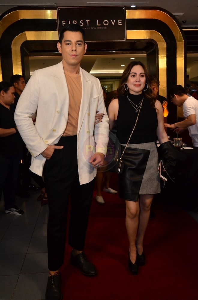 Claudine Barretto at the First Love Movie Premiere last October 16.