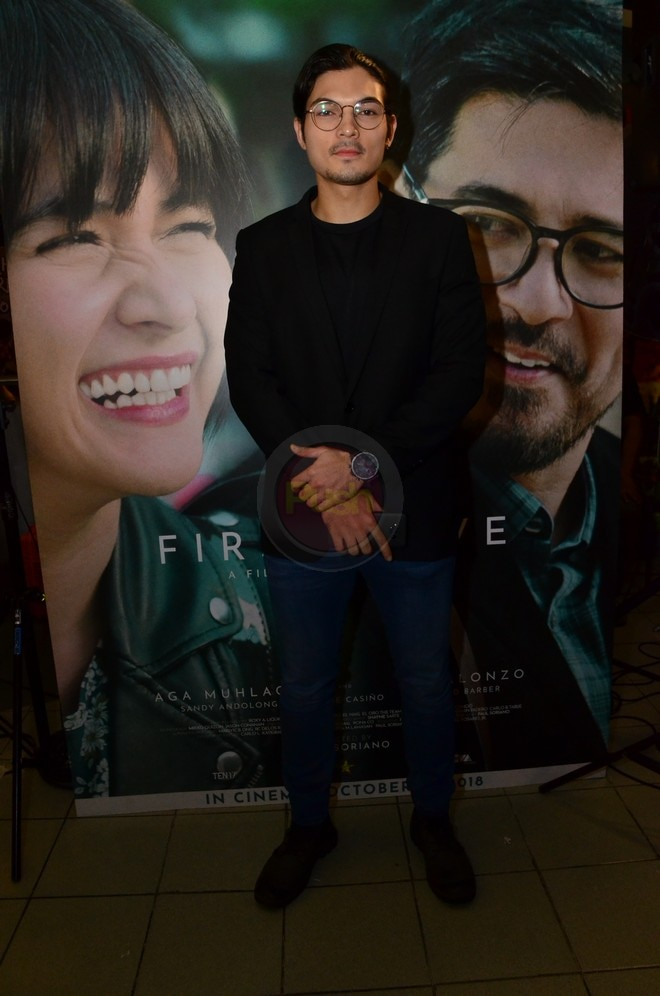 Joshua Colet at the First Love Movie Premiere last October 16.