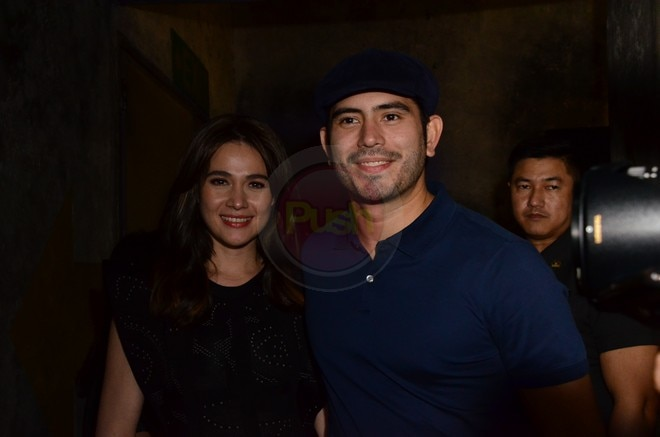 Gerald Anderson and Bea Alonzo at the First Love Movie Premiere last October 16.