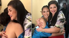 Regine Velasquez receives warm hug from Sarah Geronimo at her ABS-CBN homecoming