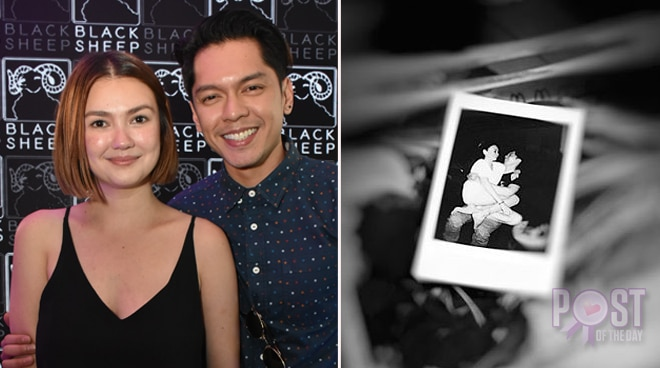 LOOK: Celebrities ask if Carlo Aquino and Angelica Panganiban are officially dating