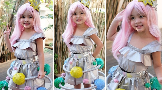 Wow! Baby Zia Dantes as Miss Intergalactic Space wins best costume
