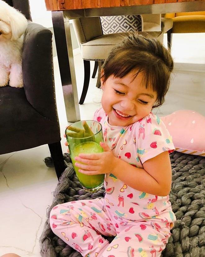 Amarah, 3 y/o daughter of Cristine Reyes and Ali Khatibi