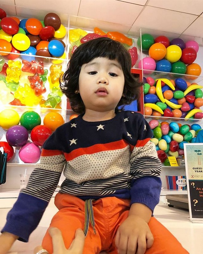 Seve, 2 y/o son of Toni Gonzaga and Paul Soriano