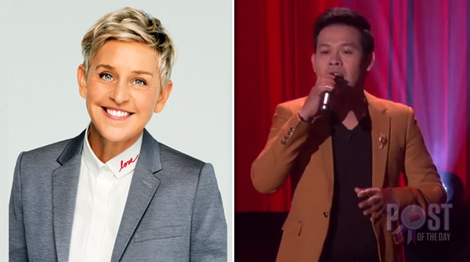 Marcelito Pomoy to guest on The Ellen DeGeneres Show