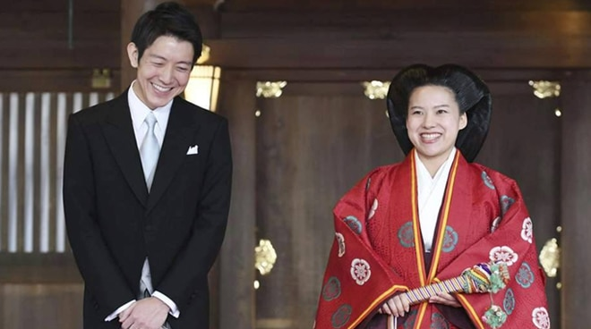 Japanese Princess gives up title to marry commoner