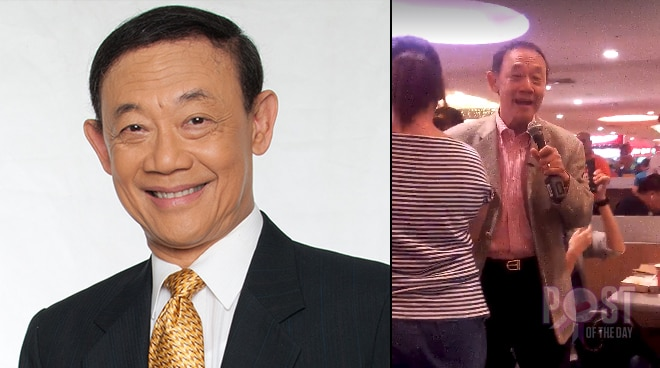 Jose Mari Chan surprises people with caroling inside a mall