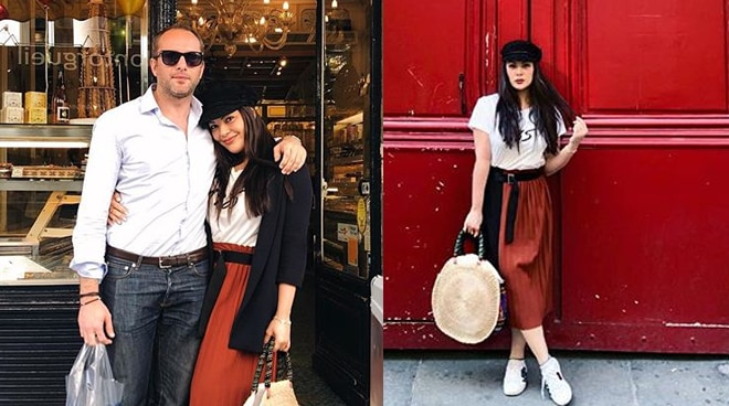 KC Concepcion enjoys Paris with boyfriend Pierre Plassart