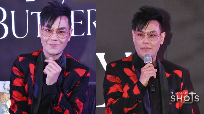 LOOK: RS Francisco unveils different photos of M Butterfly for charity auction
