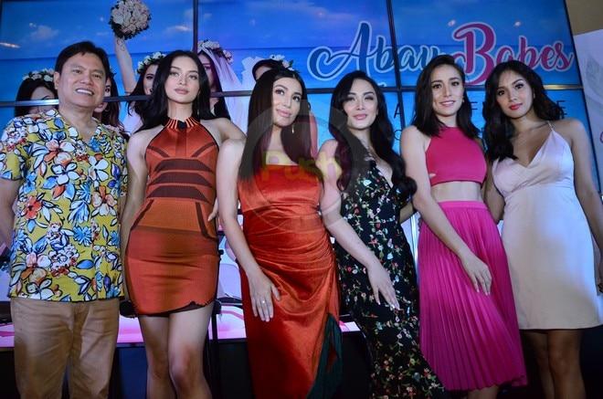 Abay Babes stars Kylie Versoza, Roxanne Barcelo, Nathalie Hart, Meg Imperial and Cristine Reyes.