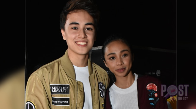 LOOK: Edward Barber gives roses to someone 'strange'