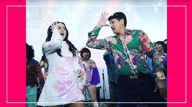 WATCH: Richard Gomez shows his groovy disco dance moves to daugther Juliana