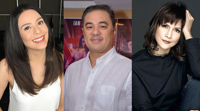 Monsour del Rosario maintains friendship with ex-girlfriends Dawn Zulueta and Agot Isidro