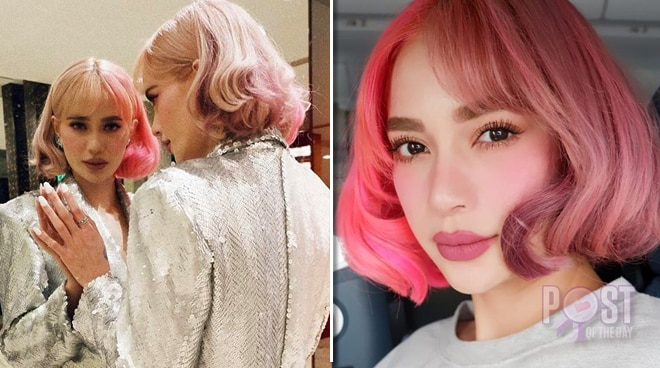 Check out Arci Muñoz's new Sakura-colored hair