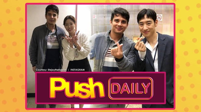 PUSH DAILY: Ejay Falcon to appear in upcoming K-Drama 'Where Stars Land'