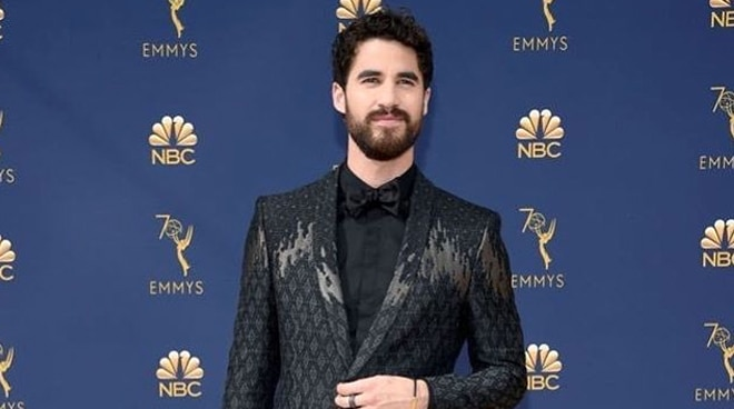 Darren Criss is the first Fil-American actor to win an Emmy award
