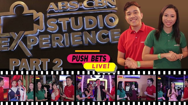 PUSH Bets Live: ABS-CBN Studio Experience Part 2