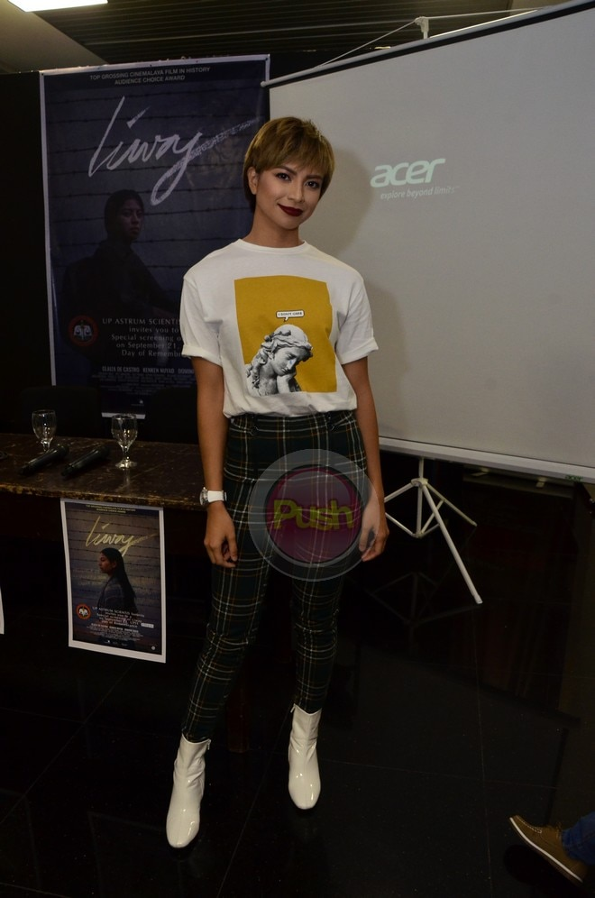 Pinagbibidahan ni Glaiza De Castro ang Cinemalaya's all-time top-grossing film na Liway.