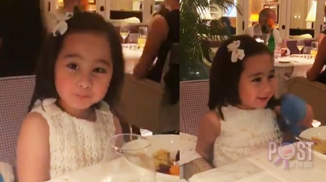 CUTE! Scarlet Snow Belo tries speaking Bisaya