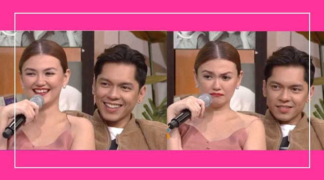 Angelica Panganiban answers why she is good friends with Carlo Aquino despite being ex-lovers