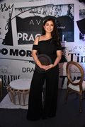 Angel Locsin looks elegant in black at Avon Bag event.