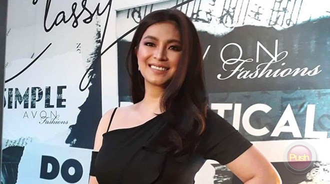 Angel Locsin is excited to attend a ball again after 10 years