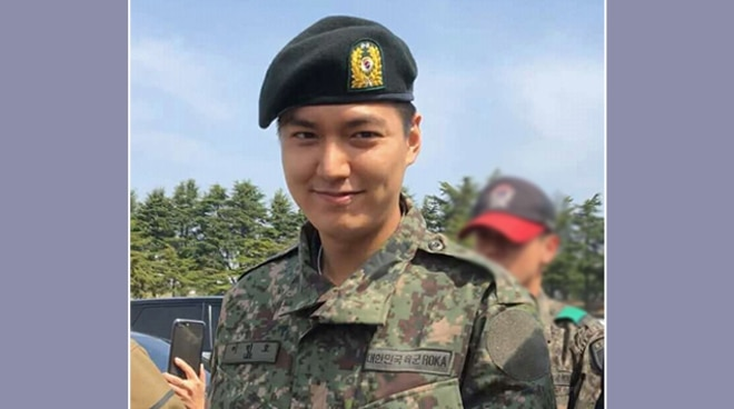 LOOK: Lee Min Ho graduates from military training