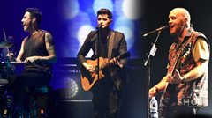 The Script performs with fans at Manila concert