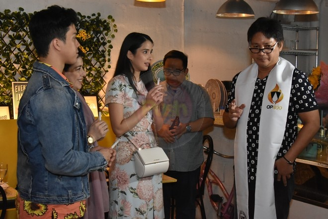 Maxene and Elmo Magalona just opened their new restaurant Milky & Sunny.
