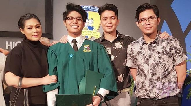 LOOK: Vhong Navarro and Bianca Lapus get emotional over their son's graduation
