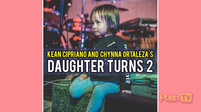 Kean Cipriano and Chynna Ortaleza's daughter Stellar turns 2
