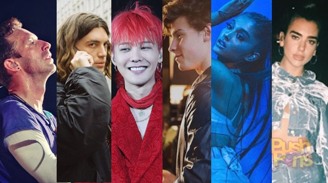 PUSH PINS: Foreign acts who came to Manila this 2017
