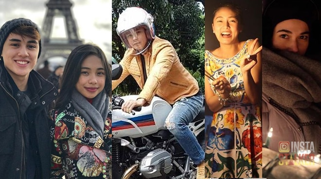 Check out how your favorite celebrities welcomed 2018