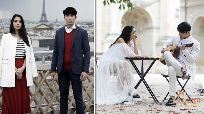 Take a look at Maxene Magalona and Rob Mananquil's classic engagement shoot