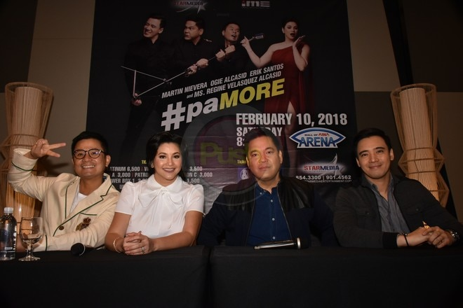 OPM's big names join together for a concert called #paMORE on February 10 at the MOA Arena.