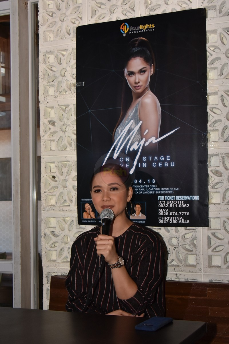 The Wildflower star will have a concert in IE Convention Center Cebu on February 4, 2018.