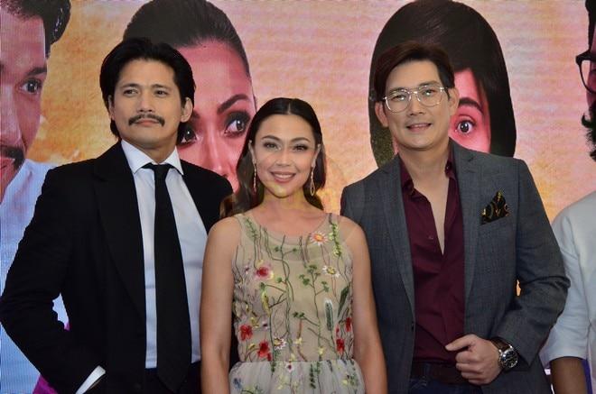Jodi Sta. Maria, Richard Yap and Robin Padilla to star in the drama series 'Sana Dalawa Ang Puso Ko.