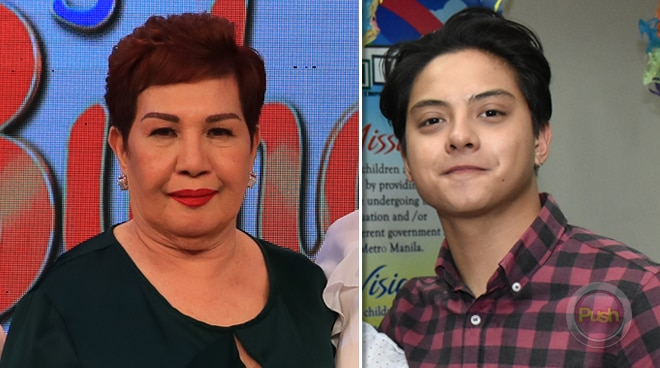Mommy Thelma talks about taking care of grandson Daniel Padilla