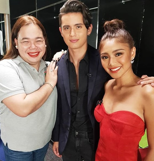 Push Now Na Exclusive: Chikahan With James Reid and Nadine Lustre part 2