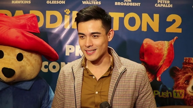 """Xian Lim on voicing Paddington for the second time: """"I'm very grateful"""