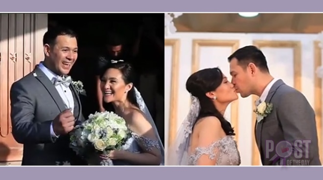 WATCH: Gladys Reyes and Christopher Roxas' renewal of vows will make you believe in forever