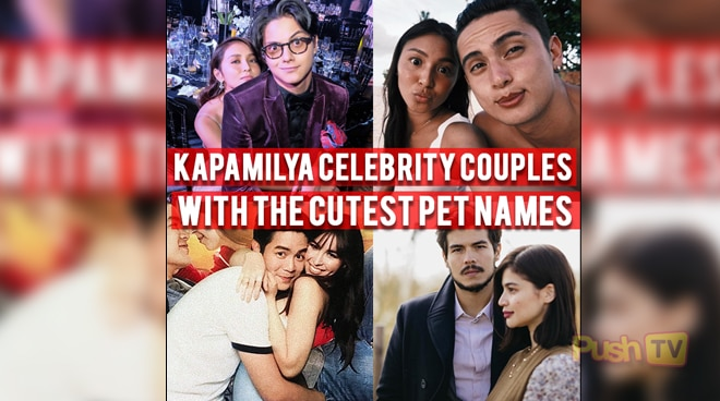 Kapamilya Celebrity couples with the cutest pet names