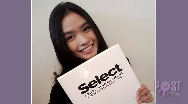 Janine Tugonon officially signs with one of Europe's top modeling agencies
