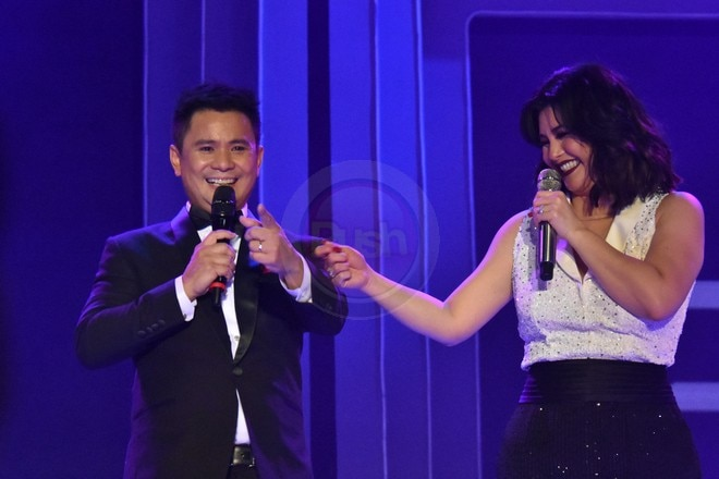Ogie Alcasid, Regine Velasquez, Martin Nievera and Erik Santos staged a concert called #paMORE.