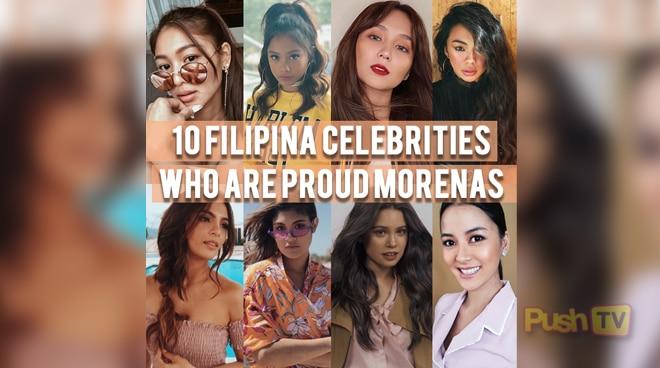 10 Filipino celebrities who are proud Morenas