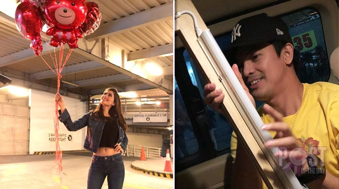 Jason Abalos surprising Vickie Rushton is the cutest thing you will see today