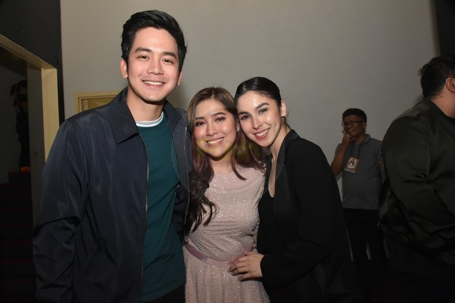 Here are the celebrities who were at Moira dela Torre's first-ever solo concert called Tagpuan.