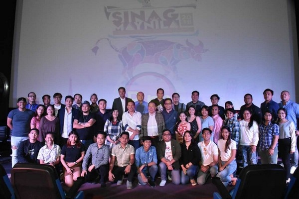 The people behind this year's Sinag Maynila film festival.