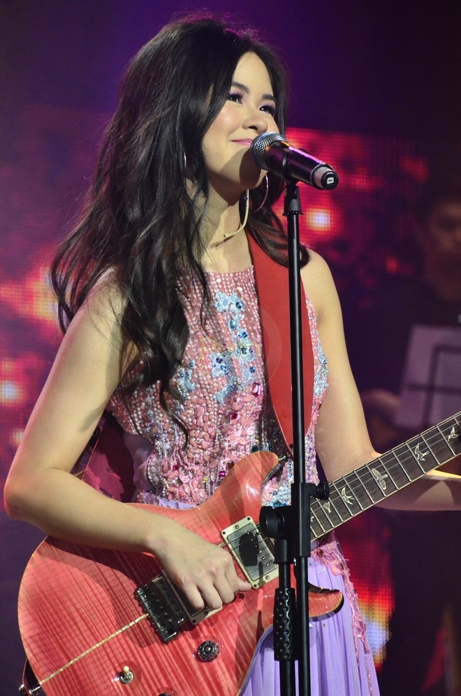 Kisses Delavin's first-ever solo concert called 'Confidently Kisses' at the Kia Theater, Feb 24