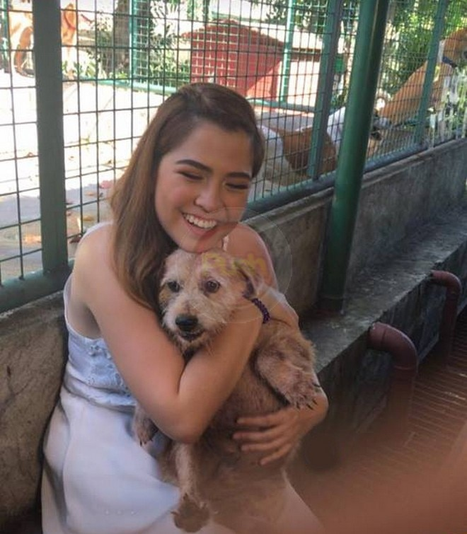 Alexa celebrates her debut at PAWS animal shelter in Quezon City with the Alexanators fans club.